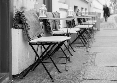 Winter dining