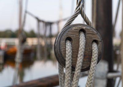 Boddenlandschaft - Zeesenboote